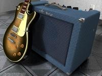 c4d ampeg guitar amp