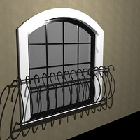 arched window wrought iron dxf