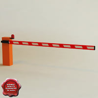 automatic barrier v2 c4d