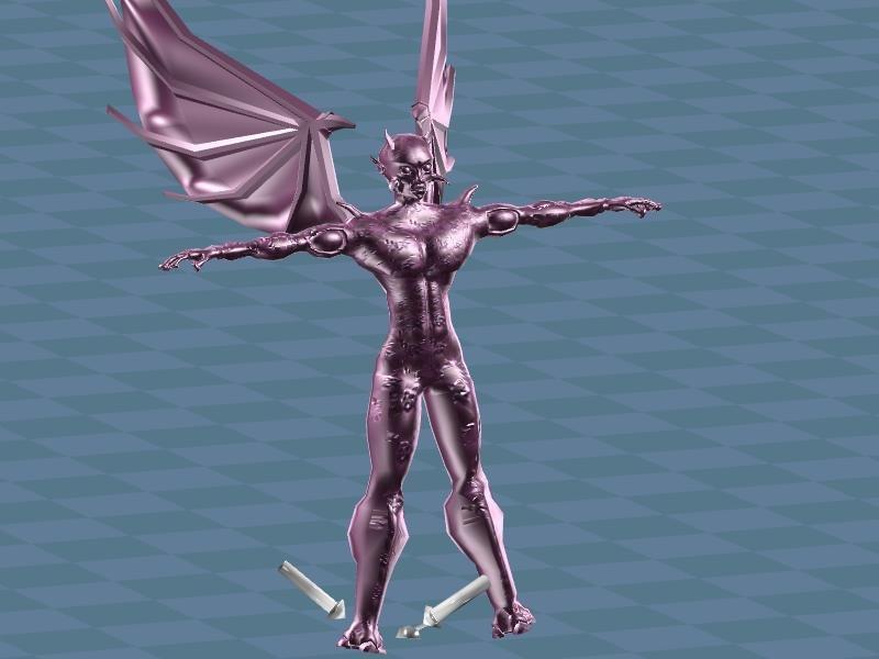 3d dx9 horns wings