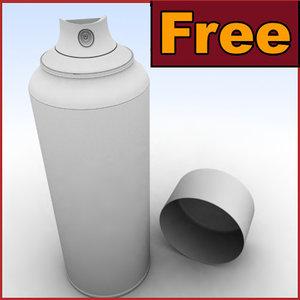 hd spray obj free