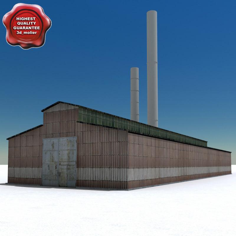 3d model of factory v1