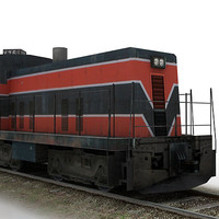 3d model amtrack alco