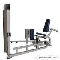 3d model gym equipment