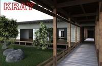 3d model japanese building