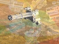 m-61 minigun 3d model