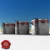 3ds oil tanks