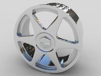 alloy rondell car wheel 3d max