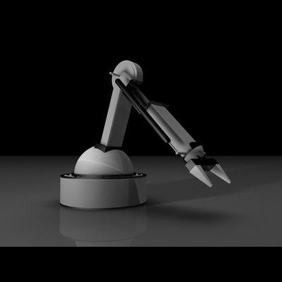 robotic arm 3d model