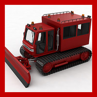 3d snowplow plow snow model