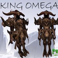 3d king omega