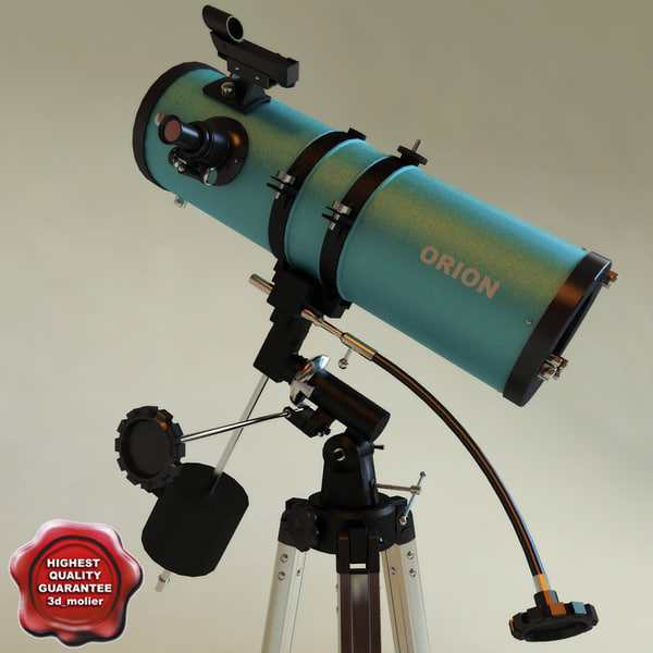 telescope orion 3d model