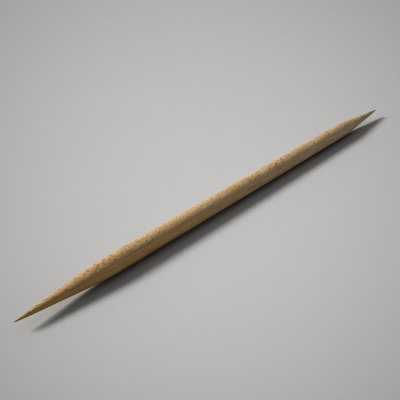 3d model toothpick tooth pick