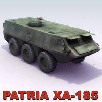 3d patria xa-185 pasi model