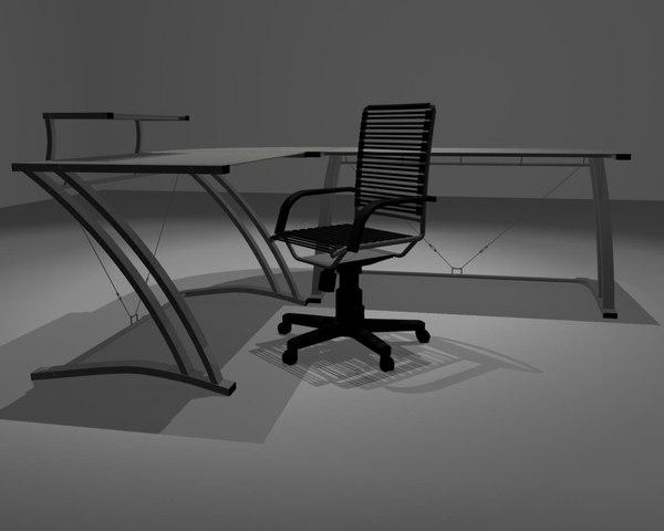 3d zdesk chair desk