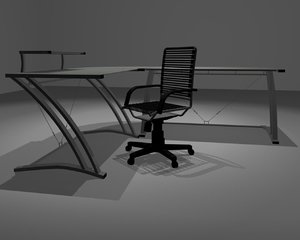 3d zdesk chair desk