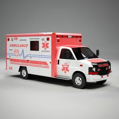 3d ambulance
