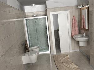 3ds bathroom bagno