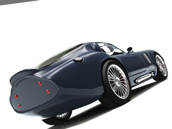 3d ac cobra coupe model