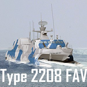 type navy missile fast 3d model