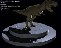 3d tiranosaurius rex