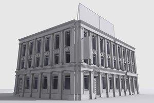 3d ma building interior