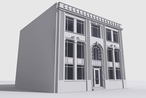 3d building interior