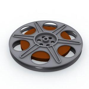 film reel 3d max