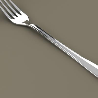 3d fork