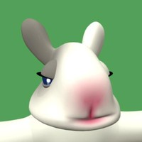 animatic rabbit xsi