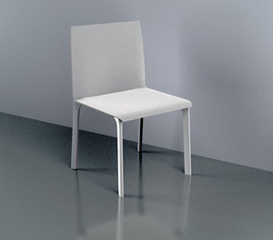 3d model of weather chair