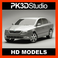 3ds skoda superb