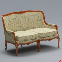 Sofa old fashioned019.ZIP