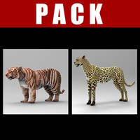 3ds cheetah tiger pack
