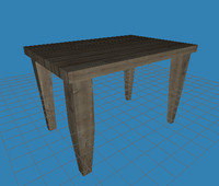 Simple Low Poly Table