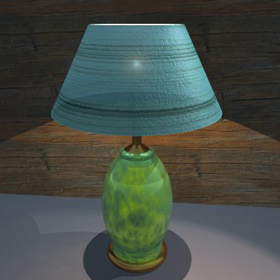 vob table lamp 1 3ds free
