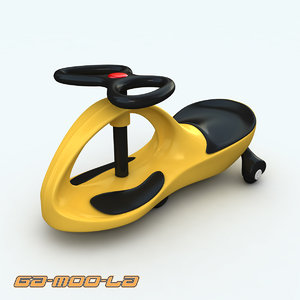 3d childrens twistcar model