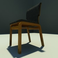 3d model of vantage chair design
