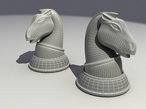 maya knight chess piece