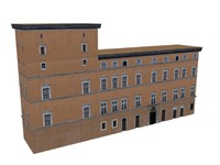 3d model european classic apartments