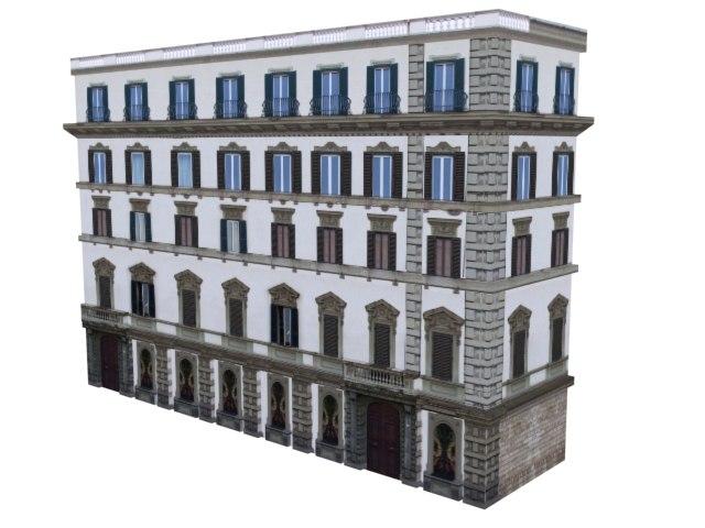 3d buildings europe