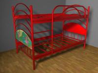 3d bunk - model