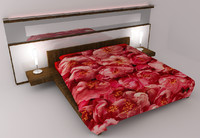 sexy bed 3d 3ds