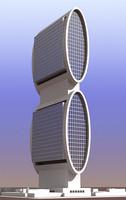 3d model future building 02