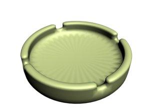 ash tray 3d model