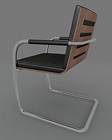 chair thonet s60 3d model