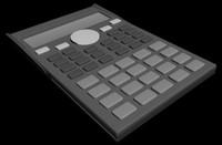 free calclutar 3d model