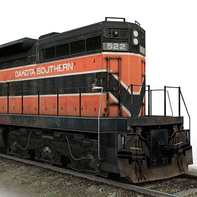 3d model emd sd7