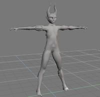 character 1 3d model