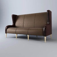 3d fendi febo bench